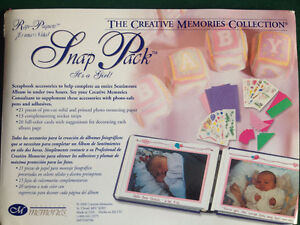 CREATIVE MEMORIES SNAP PACK: IT'S A GIRL!