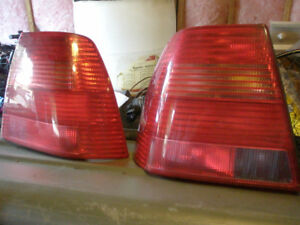 2003 VW Jetta rear tail light assemblies