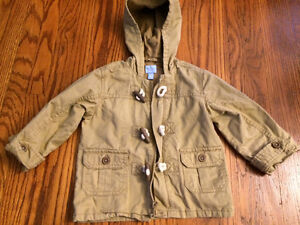 Boys spring coat 12-18 months The Children's Place like new