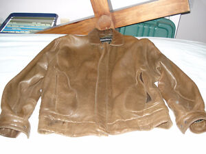 Comstock Leather Jacket,  Size 40-52.    New Was $1200.00