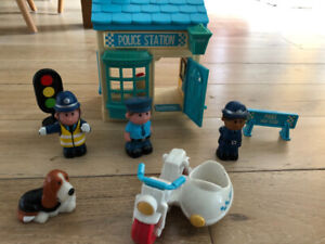 Police Little People Fisher Price