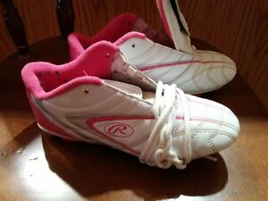 Girl's Soccer Cleats - size 4