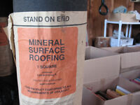 3 Rolls of Mineral Surface Roofing - Tar & Nails - All for $150