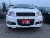 2011 Chevrolet Aveo LT Hatch Bac/Accident Free/certified/63800Km Mississauga / Peel Region Toronto (GTA) Preview