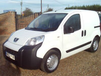 Peugeot Bipper 1.3HDi 75 S no vat to pay 2012