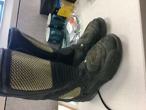 Size 8 motorcycle riding boots