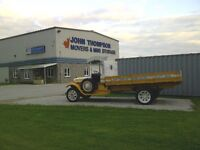 JOHN THOMPSON MOVERS - POSITIONS AVAILABLE ON MOVING CREWS
