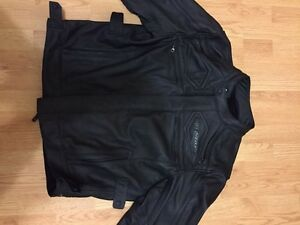 Men's 2XL Yamaha VStar leather jacket