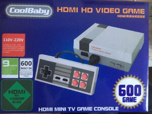 Game Console (New in Box) - Has 600 Built-In Games!