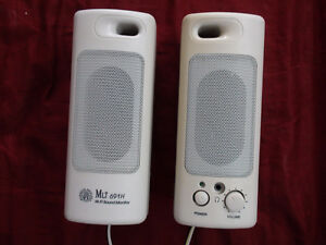 Computer Speakers Brand MLI and Power Supply
