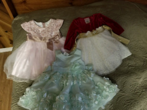 Dresses size 12 months and 12-18 months