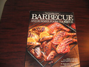 The Canadian Living BARBECUE & SUMMER FOODS Cookbook - softcover