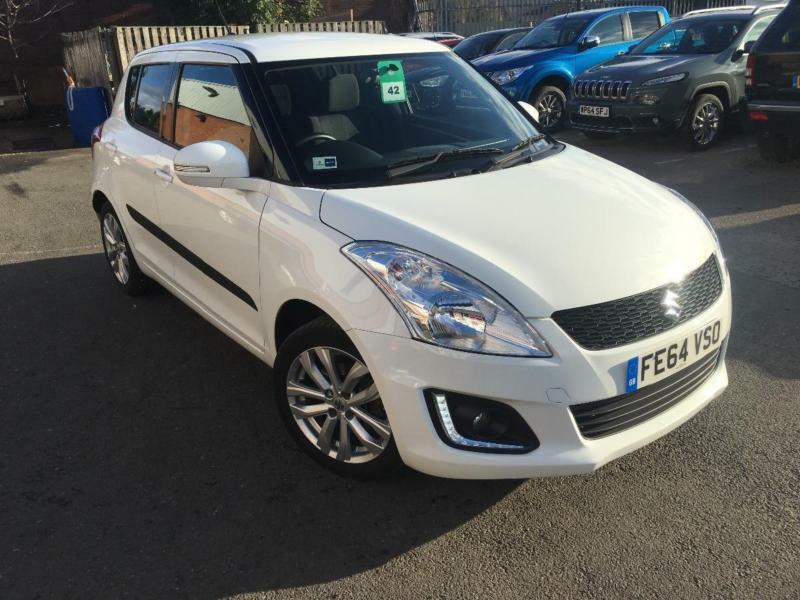 2014 Suzuki Swift SZ4 Petrol white Manual