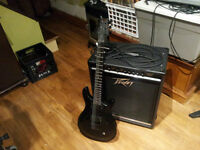 Guitare Red Fox & Amplificateur Peavey KB/A 100