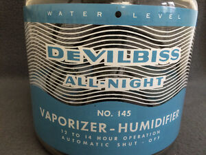 Collectible Antique DeVilbiss All Night Vapourizer-Humidifier Be London Ontario image 2
