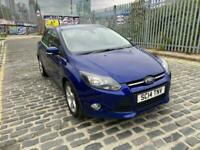 2014 Ford Focus 1.6 Ti-VCT Zetec Navigator Navigator 5dr Hatchback Petrol Manual