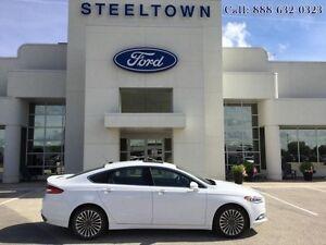2017 Ford Fusion Titanium  - Leather Seats -  Bluetooth - $175.1