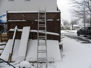 20 foot extention ladder