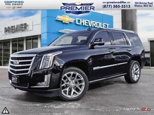 2017 Cadillac Escalade Premium ONE OWNER! CADILLAC CERTIIFIED WI