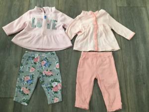 Lot vêtements bébé fille 3 mois plus de 30 morceaux