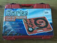 Clarke 12pc oil pressure test kit