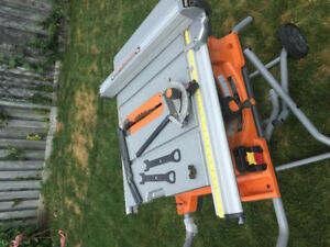 RIGID TABLE SAW FOR SALE