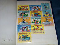 SET OF 12 ANTIGUA POSTAGE STAMPS-1979-DISNEY-MICKEY MOUSE +