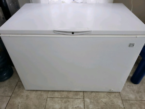 Kenmore chest freezer.