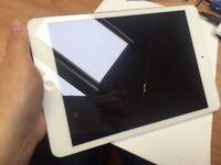 iPad mini 32GB white and silver wifi