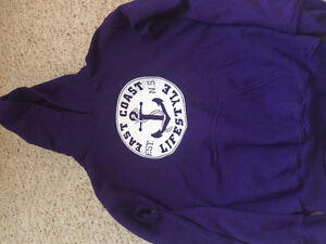 East Coast Lifestyle hoodie youth Large