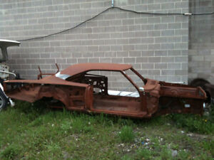 1969 383 4-Speed Plymouth Road Runner PROJECT CAR