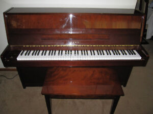 Apartment Sized Kawai upright  Piano