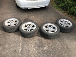 BMW OEM Mags and winter tires 205/55/16