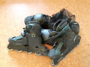 Roller Blades and pads