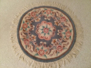 Nice Round throw carpet mat