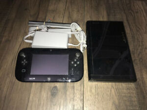 Nintendo Wii U System 32gb will all cable 120$