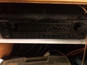 Stereo cd tape deck with 4 speakers