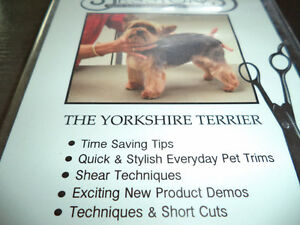 DVD of The Yorkshire Terrier / Instructional grooming DVD/