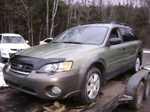 !!  PARTING OUT 2005 SUBARU OUTBACK WAGON  !!