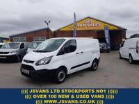 2016 66 FORD TRANSIT CUSTOM SWB 100 T290 ECO LATE 2016/ 66 REG 1 OWNER ONLY 4500
