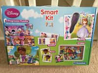 Disney 7 in 1 play activity set including puzzles, memo, quizzes and more