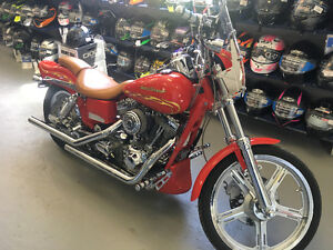 ONE SHARP RIDE 2001 HARLEY DAVIDSON SCREAMING EAGLE FXDWG2