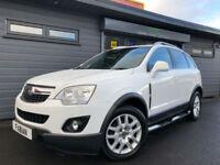 Vauxhall Antara 2.2CDTi 163ps AWD Exclusiv **4x4 White FSH**