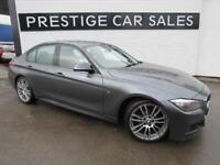 2014 BMW 3 Series 2.0 318d M Sport (s/s) 4dr Diesel grey Automatic