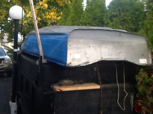 Boat and utility trailer