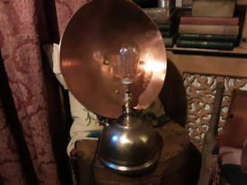 Tilley electric lamp