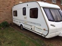 Abbey impression 4 berth fixed end bed