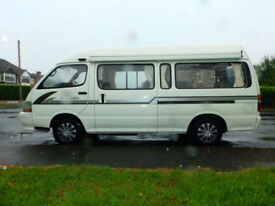 1992 J'reg Toyota Hiace LWB 2.8 Diesel Auto Campervan**8 Seater**77,000 miles**
