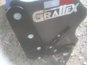 gratte Grattex 8 pieds avec attache Alo