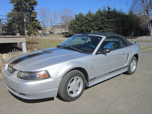 2001 Ford Mustang convertible v6 automatique